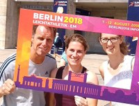 Leichtathletik-Trainer-Trio bei Europameisterschaft in Berlin