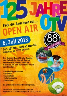 Flyer OTV Open Air 2013